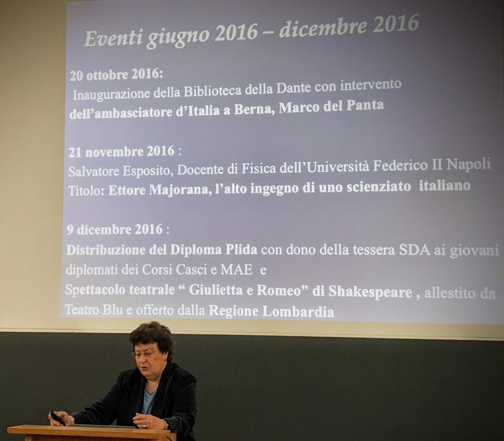 Assemblea Generale 2017 - Eventi 2016