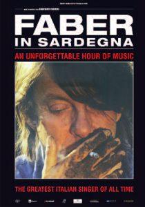 """poster per il film """" Faber in Sardegna"""""""
