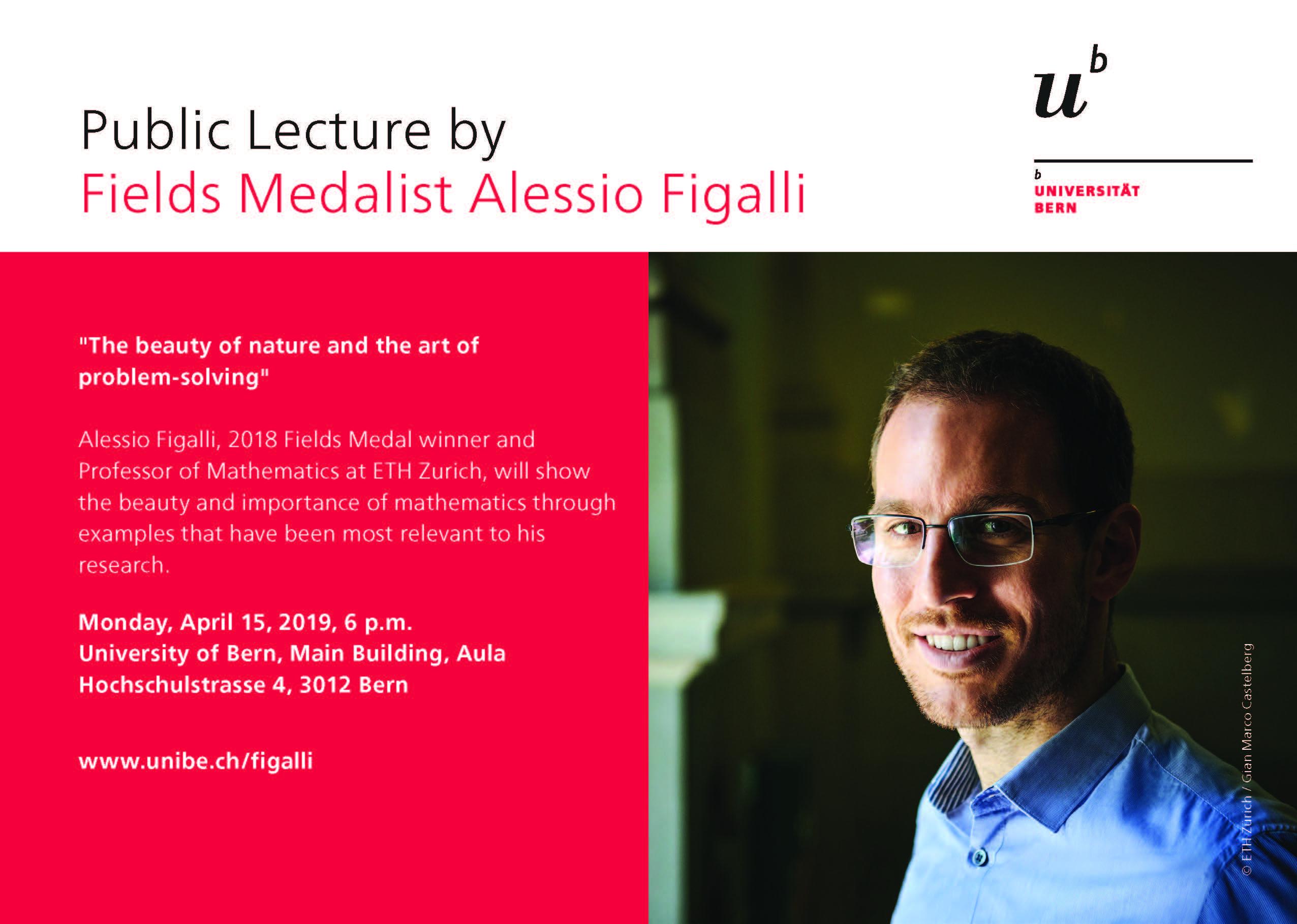 volantino: conferenza Alessio Figalli
