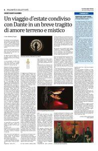 Articolo sul festival Assisi Suono Sacro 2019 (foto con link al testo pdf)