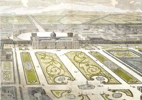 Reggia di Caserta, progetto, 1750