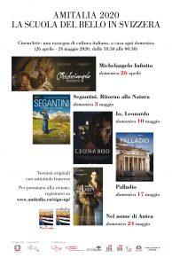 Volantino AMITALIA 2020 - Scuola del Bello in Svizzera ( +formato .pdf)
