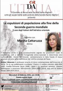 volantino - conferenza M.Cattaruzza 10.02.21+ link al pdf