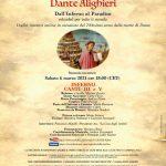 """volantino """"Dante reloaded 1"""" + link al pdf"""